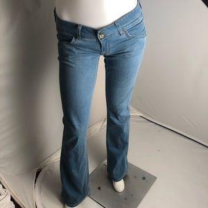 Hudson style #W170DIX color #TPZ bootcut blue jean